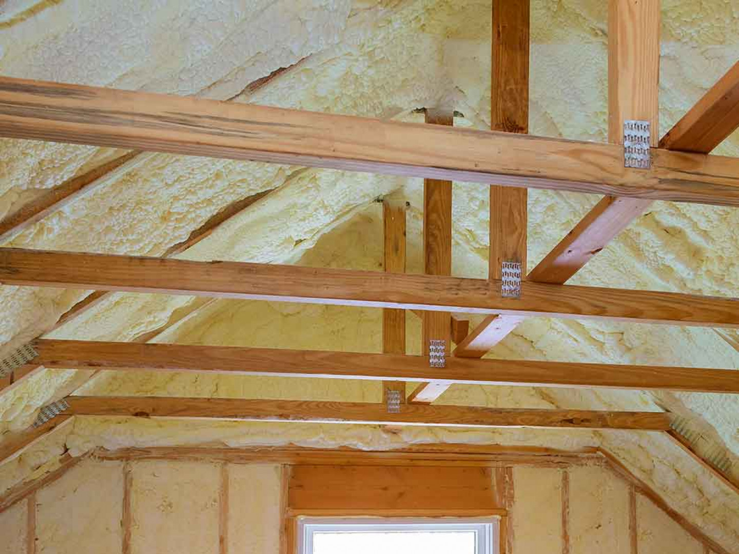 When should you install spray foam insulation?